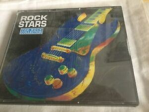 THE ROCK COLLECTION - ROCK STARS - TIME LIFE 2 x CDS-LIKE NEW-QUEEN-KINKS-BYRDS
