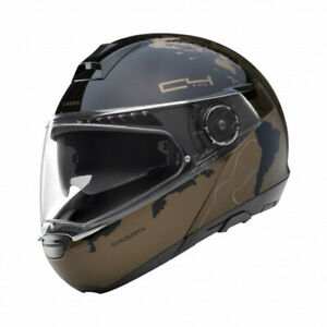 Schuberth C4 Pro Magnitudo Brown Helmet - Fast & Free Shipping