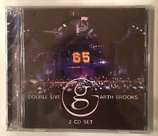 Garth Brooks 'Double Live' 2CD Pearl Records (2005) Brand New Factory Sealed