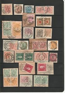Bosnia - Stamps with Interesting Postmarks 2 SCANS (4393)