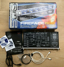 RME Fireface 800 FireWire Audio Interface - near mint and original *everything*