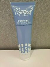 Rooted Beauty Purifying Detox Scrub - 4 oz. - Brand New!