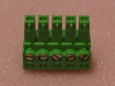 5 Pin Screw PCB Terminal Block Connector 3.81mm Pluggable Type 300v 125v OEM