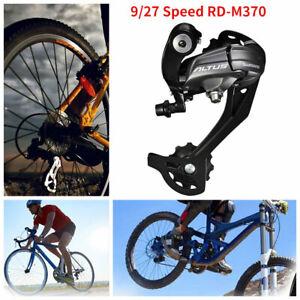 Schaltwerk Schwarz Mittelkäfig 7/27 Geschwindigkeit Für Shimano Altus RD-M370 DE