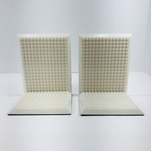 Build On Brick Bookends by Think Geek Compatible with Lego and Other Bricks