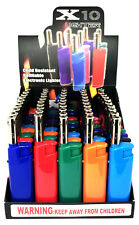 Extended X10 Electric Lighter BBQ Short Lighters 50 Count Display Lighters