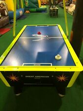 Great American Laser Air Hockey Home Game with Electronic Scoring Unit