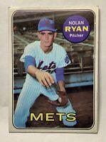 1969 Topps Nolan Ryan New York Mets #533 Baseball Card 2nd Year Card (e-KCTX)