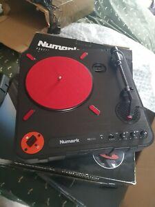 Numark PT01 Scratch Portable DJ Turntable with Carry Case