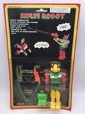 Vintage Multi Robot Spaceship Toy Transformers 1980's MOC Hong Kong By FIM #3