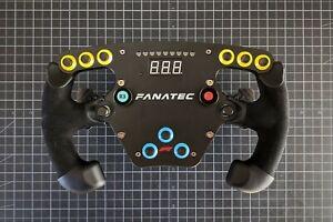 Fanatec Clubsport Steering Wheel - F1 Esports Racing Wheel Upgraded Shifters