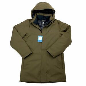 New Columbia Omni-Tech Blizzard Fighter Long Winter Jacket Mens Size Small $220