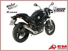 Kit Terminali Scarico Mivv X-Cone Ducati MONSTER 750 99 D017LC2