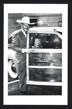 1942 HOPALONG CASSIDY ADVERTISING POSTCARD FOR CHRYSLER - MINT UNUSED