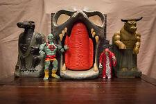 Vintage 1986 Thundercats Mumm-Ra's Tomb Fortress Playset