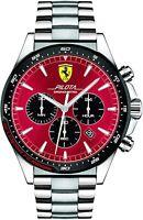 Orologio uomo Cronografo Scuderia Ferrari FER0830619 Pilota Evo Crono Mens watch