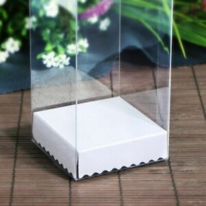Clear Gifts Box Party Favors Souvenirs Packaging Ideas 10 Pcs/Lot Event Supplies