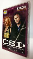 CSI Scena del crimine  Crime Scene Investigation DVD Serie TV Stagione 4 vol. 6