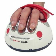 Polygraph Shocking Liar Micro Electric Shock Lie Detector Truth Game Toy MC