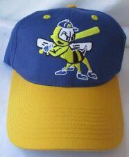 BURLINGTON BEES MILB OUTDOOR CAP ADJUSTABLE HAT S/M - MINT