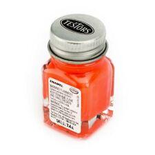 Testors 1127TT Orange Enamel Paint 1/4 oz. Gloss
