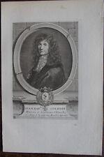 JEAN BAPTISTE COLBERT ,  MINISTRE ( 1619-1683)