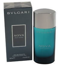 BVLGARI AQVA POUR HOMME 1.0 OZ EDT SPRAY FOR MEN NEW IN A BOX BY BVLGARI