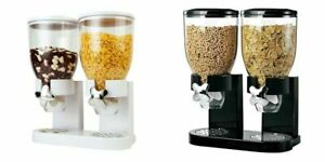 Müslispender doppelt, Kornflakes Spender, Cerealienspender, Cornflakes Behälter
