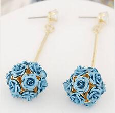 MARNI H&M Light Blue  Flower  Earrings