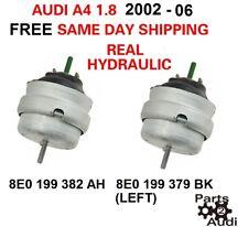 AUDI A4 1.8 1.8T Engine Motor Mount Mounts SET KIT PAIR  HYDRAULIC FITS 2002-06