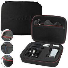 Coque rigide/sac de protection pour sony Actioncam fdr-x3000, x3000r-Noir