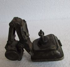 Vintage Old Iron Rare Front Lamp Bicycle Oil Lamp Lantern Light , Collectible