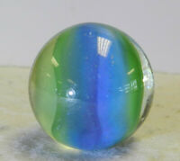 #12538m Large Vintage Hybrid Cat's Eye Shooter Marble 1.01 Inches