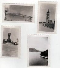 1941 NEW YORK Photograph PHOTO Lot LAKE CHAMPLAIN Bridge MONUMENT Ticonderoga NY