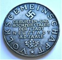 WW2 GERMAN COMMEMORATIVE COLLECTORS REICHSMARK COIN..