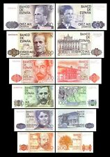 2x  200 - 10.000 Pesetas - Ausgabe 1979 - 1985 - Reproduktion - 02