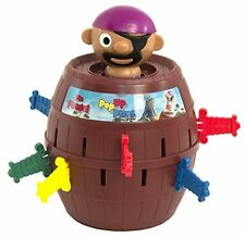 Pop-Up Pirate TOMY Classic Game Family Fun Barrel Eject BRAND NEW Fast Delivery
