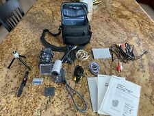 Sony Handycam Dcr-Ip7Bt Micro Mv Camcorder With Accessories and Bag