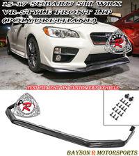 VR-Style Front Lip (Urethane) Fits 15-17 Subaru WRX STi