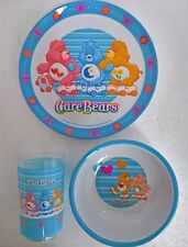 ~ Care Bears - CHILDS KIDS DINNER LUNCH FEEDING SET MEALS & Photo Frame *Limited