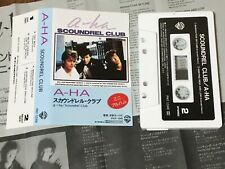 A-HA - SCOUNDREL CLUB  JAPAN CASSETTE TAPE  PKF-1048