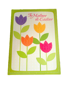 Easter Card TO MOTHER Floral Bouquet American Greeting