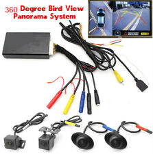 360°Panoramic Bird Full View HD 4 CCD Camera Car DVR Parking Recording System