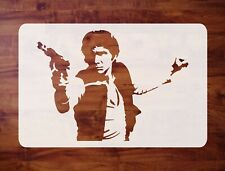Mylar Star Wars Stencil, Han Solo, Paint, Airbrush FREE SHIPPING