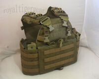 FLYYE MMAC-R MOLLE Upgrade 6094 Plate Carrier Tactical Vest - Coyote Brown