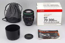 【B V.Good】 Canon EF 70-300mm f/4.5-5.6 DO IS USM AF Lens w/Box From JAPAN #2688