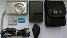 Sony Cyber-shot DSC-S980 12.1MP Digital Camera - SILVER + 512MB Memory Stick