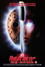 "FRIDAY 13th VII THE NEW BLOOD -  REPRO UK VIDEO SHOP POSTER 30X20"" FREE P&P"