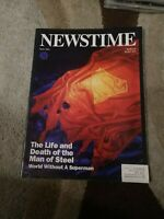 Life and Death of Superman Newstime DC May 1993 Comic Book Magazine