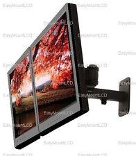 EZM Dual LCD/LED/Plasma Wall Mount Extension Arm